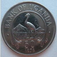Уганда 50 центов 1976 г. (u)