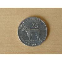 Эритрея 25 центов 1991 г.