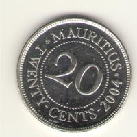 20 центов 2004 г.