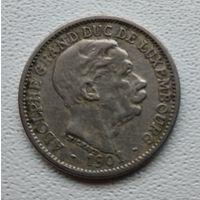 Люксембург 10 сантимов, 1901 1-2-8