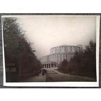Фото. Минск. Театр оперы и балета. 1950-60-е. 9х12 см