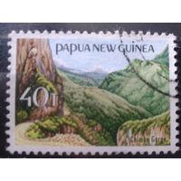 Папуа Новая Гвинея 1965 Ландшафт