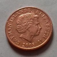 1 цент, Каймановы острова 2008 г.