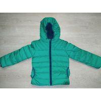 Новая куртка холодная осень-зима на рост 116-122