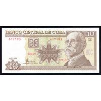 Куба / CUBA_2009_10 Pesos_P#117.k_UNC