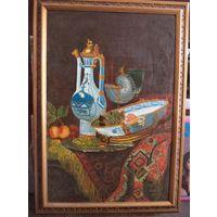 Картина советского художника Отливанчика 1991 год. 67х48см. холст масло.