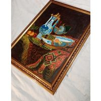 Картина советского художника Е. Отливанчика 1991 год. 67х48см. холст масло.