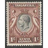 Кения Уганда и Танганьика. Король Георг V. 1935г. Mi#31.