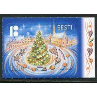 Эстония. Рождество 2018. Новый год