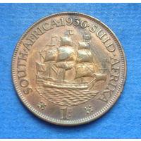 Южная Африка Британский доминион 1 пенни 1936 Георг V Состояние