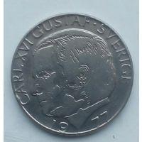 1  крона  Швеции 1977
