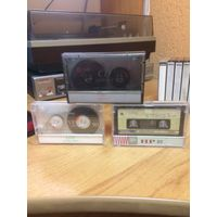 Аудиокассета фирменная LG, Gold Star (б/у)