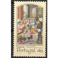 С Рождеством! Португалия 1985 год 1 марка