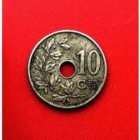 53-27 Бельгия, 10 сантимов 1905 г. Французский тип