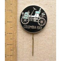 Значок COLUMBIA 1901