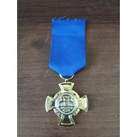 Данциг. Крест за службу в полиции 1-ой степени за 25 лет выслуги