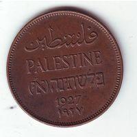 Палестина. 2 милс 1927 г.