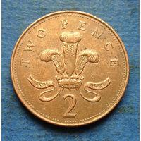 Великобритания 2 пенса 2005