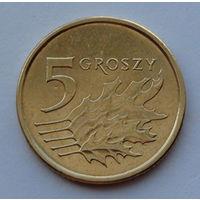 Польша 5 грошей. 2013