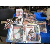 Фанатская коллекция Tokio Hotel(много: постеры, журналы, значки, платок, календари, наклейки и др).