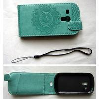 Для samsung i8190 galaxy s3 mini чехол кожаный новый.