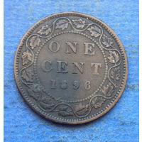 Канада 1 цент 1896