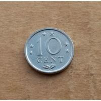 Нидерландские Антильские острова, 10 центов 1980 г.