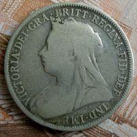 Великобритания. 1 шиллинг 1894 г. Виктория.