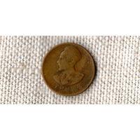 Эфиопия 1 цент  1944 ///(ON)