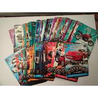 Карточки Супергонки 1 и 2 серия