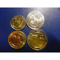 Кения 4 монеты одним лотом