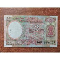 Индия 2 рупии 1992