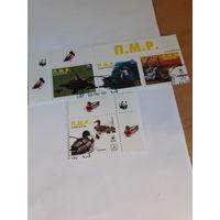 Непочтовые марки Фантастика Приднестровье