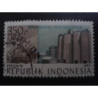 Индонезия 1985 5-летний план по цементу