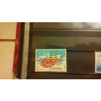 Корабли, флот, транспорт, марка, фауна, рыбы, Испания, 1973