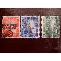Рейх. Mi. 372-374 1925 - Mi.2.4 euro см. описание