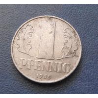 1 пфенниг 1968 год (A) ГДР #08