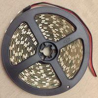 ТЕПЛАЯ БЕЛАЯ 5050 светодиодная лента. 5 метров. 14,4 Вт/м. 60 светодиодов на метр