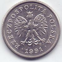 Польша, 50 грошей 1991 года.