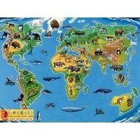 Паззл Карта животного мира Равенсбургер,200 эл.