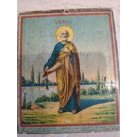 Икона св Петр (крещальная)