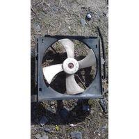 Ниссан примера W10 вентилятор радиатора охлаждения