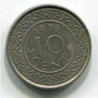 СУРИНАМ - 10 ЦЕНТОВ 1976