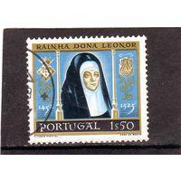 Португалия.Ми-873. Королева Леонор (1458-1525). 1958.