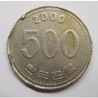 Южная Корея 500 вон 2006 г