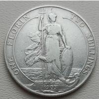 Великобритания 1 флорин (2 шиллинга) 1903, серебро