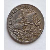 Испания 25 сентимо, 1925 4-9-5