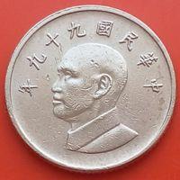 1 доллар 2010 ТАЙВАНЬ