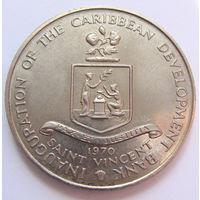 О. Сент-Винсент 4 доллара 1970 г