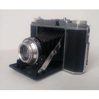 Редкий складной среднеформатный пленочный фотоаппарат Atlantic с объективом Prontor-s. Германия.